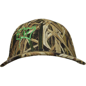 Curved Bill 707 Mossy Oak Shadow Grass Flex Hat - Humboldt Clothing Company