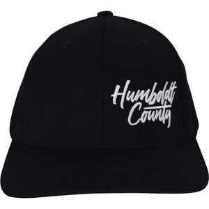 Curved Bill HumCo Script Flex Hat