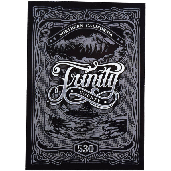 530 Trinity Sticker - Humboldt Clothing Company