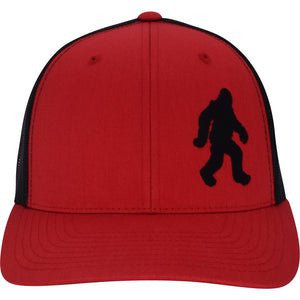 Curved Bill Bigfoot Trucker Snap Hat