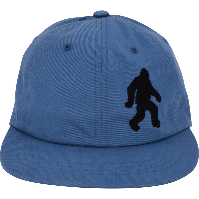 Flat Bill Bigfoot Dad Snap Hat