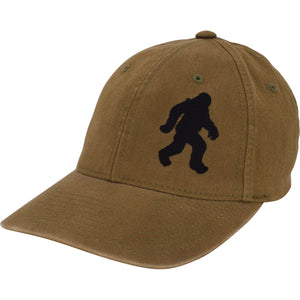 Curved Bill Bigfoot Flex Dad Hat