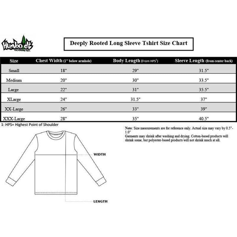 Deeply Rooted Long Sleeve Tshirt