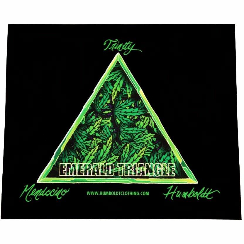 EmTriangle Sticker - Humboldt Clothing Company
