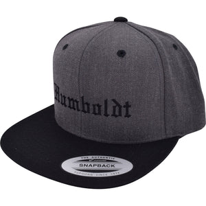 Flat Bill Old English Snapback Hat