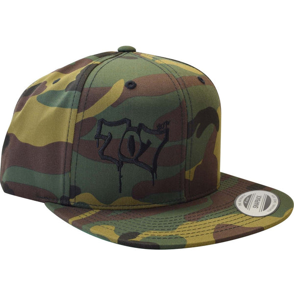 Flat Bill 707 Classic Snap Hat - Humboldt Clothing Company