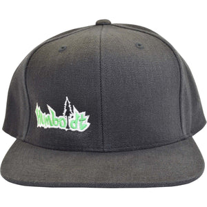 Flat Bill HEMP Small Treelogo Snap Hat