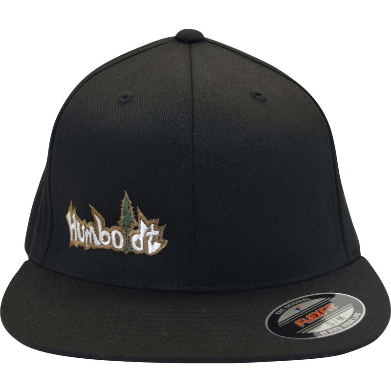 Flat Bill Small Treelogo Flexfit Pro Hat - Humboldt Clothing Company