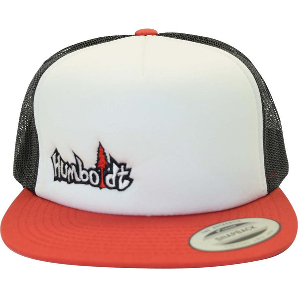Flat Bill Small Treelogo Snap Hat - Humboldt Clothing Company