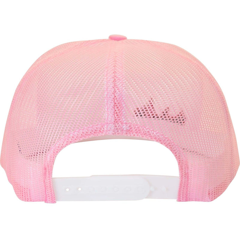 Flat Bill Small Treelogo Light Pink Snap Hat - Humboldt Clothing Company