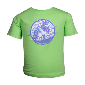 Flying Unicorn Toddler Tshirt