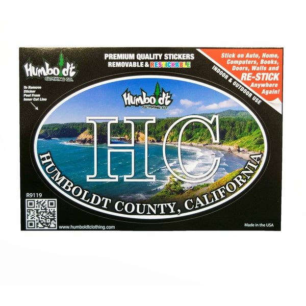 HC Ocean Sticker - Humboldt Clothing Company