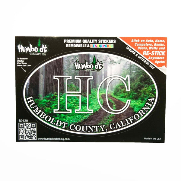 HC Redwoods Sticker - Humboldt Clothing Company