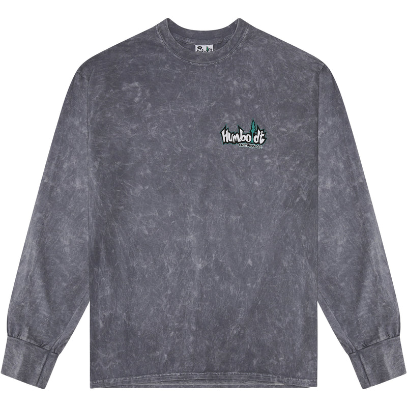 Mineral Wash Long Sleeve Tshirt