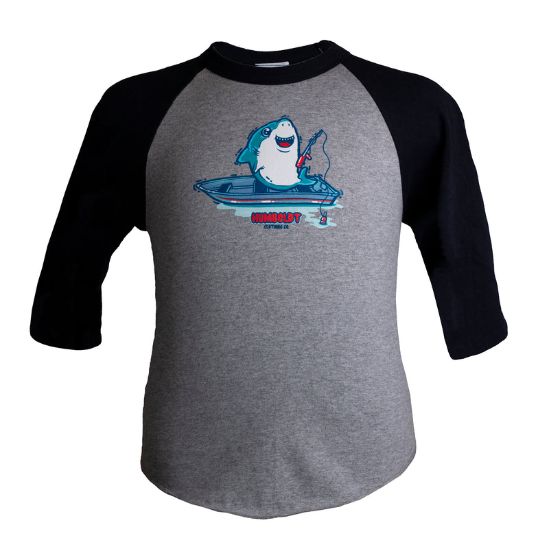 Sharky 3/4 Sleeve Youth Tshirt