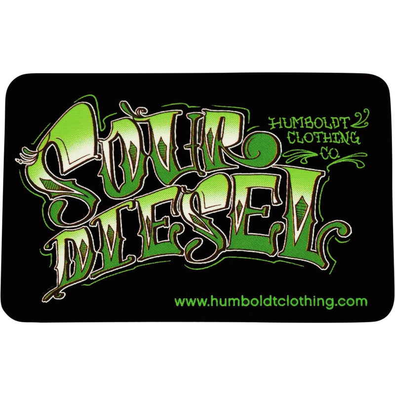 Sour Diesel Sticker - Humboldt Clothing Company
