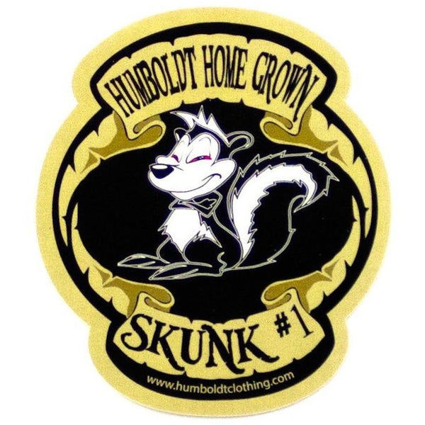 Skunk #1 Sticker - Humboldt Clothing Company