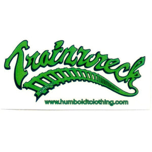 Trainwreck Sticker - Humboldt Clothing Company