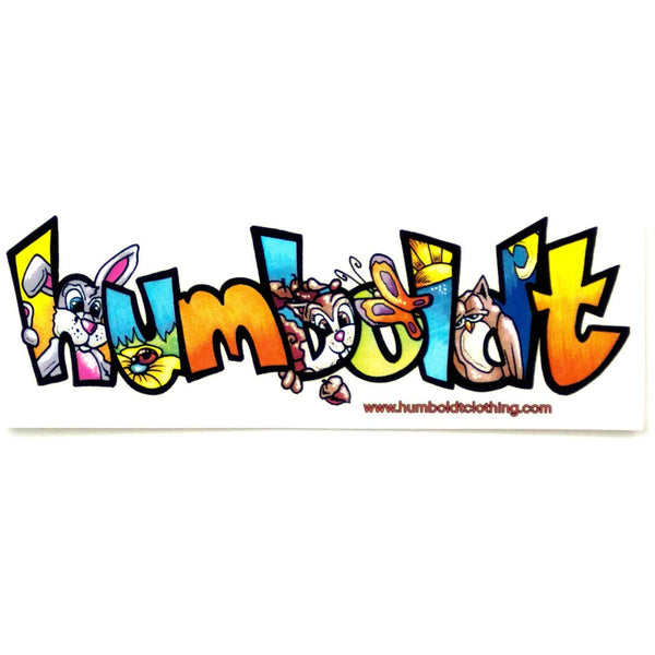 Animals Sticker - Humboldt Clothing Company