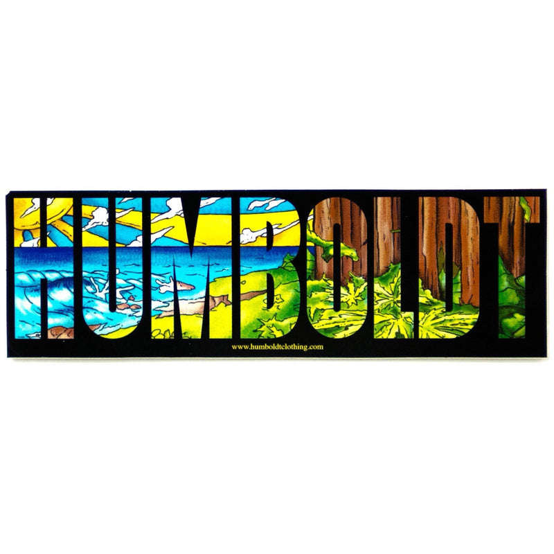 Redwood Coast Sticker - Humboldt Clothing Company