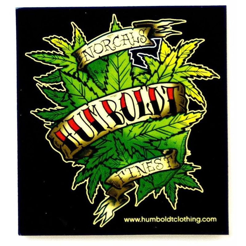 Norcals Finest Sticker - Humboldt Clothing Company