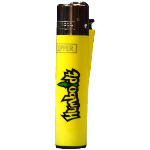 Yellow Humboldt Clipper Lighter - Humboldt Clothing Company