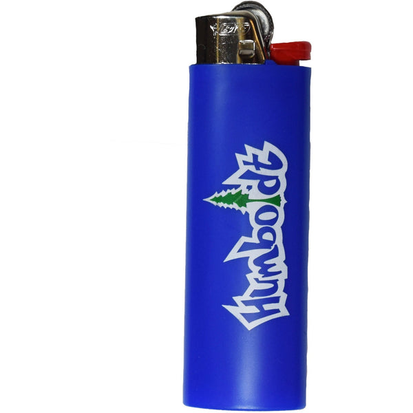 Blue Treelogo Bic Lighter - Humboldt Clothing Company