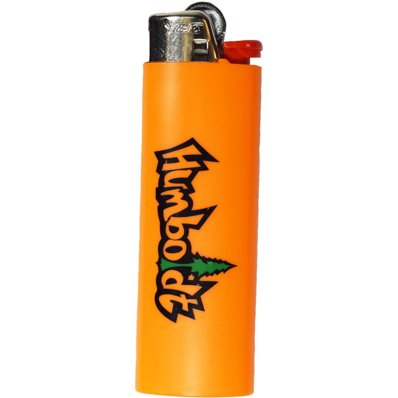 Orange Treelogo Bic Lighter - Humboldt Clothing Company