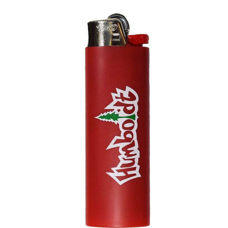 Red Treelogo Bic Lighter - Humboldt Clothing Company