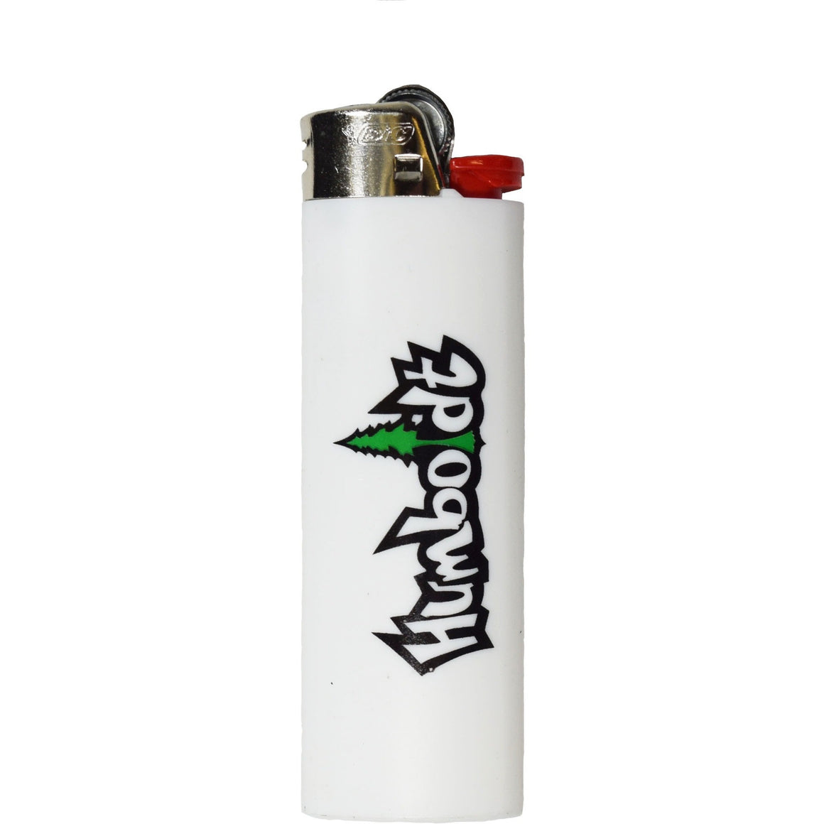 White Treelogo Bic Lighter - Humboldt Clothing Company