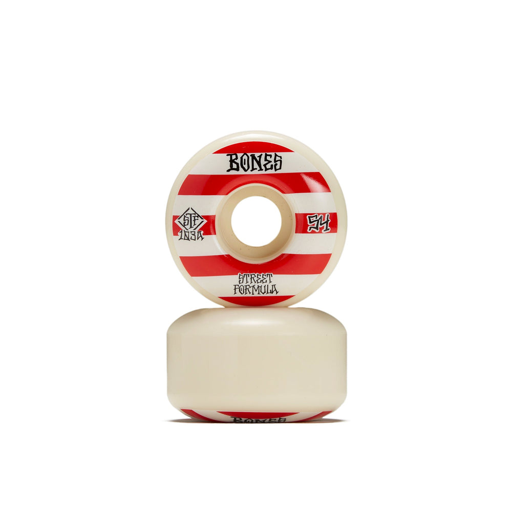 Bones STF Patterns V4 Wide Skate Wheels - 52mm
