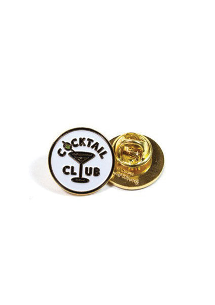 Good Worth Cocktail Club Pin