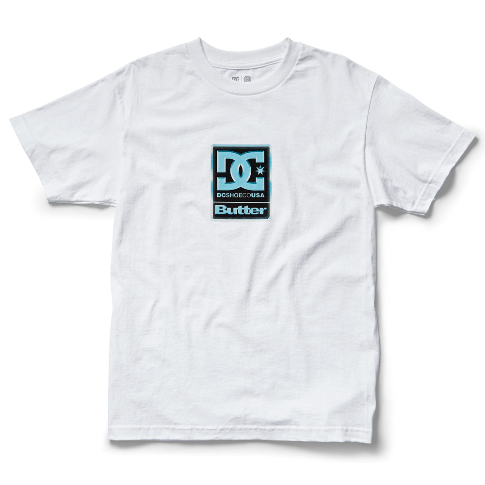 DC x Butter Goods Badge Tee - White