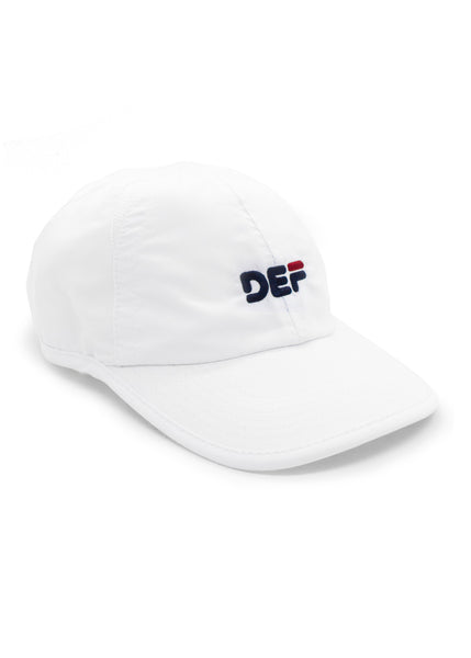 Def Bubblehead Sports Cap - White