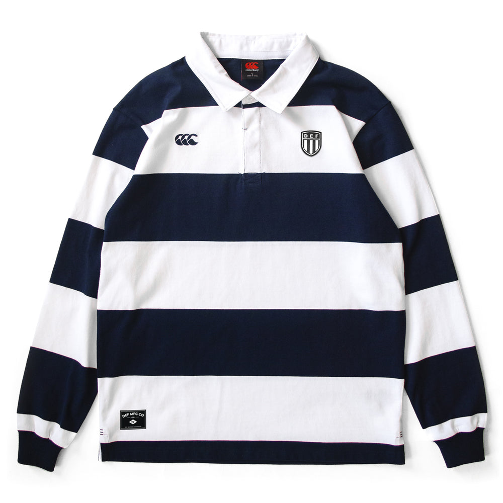 Def x Canterbury Crest Rugby Jersey - White/Navy