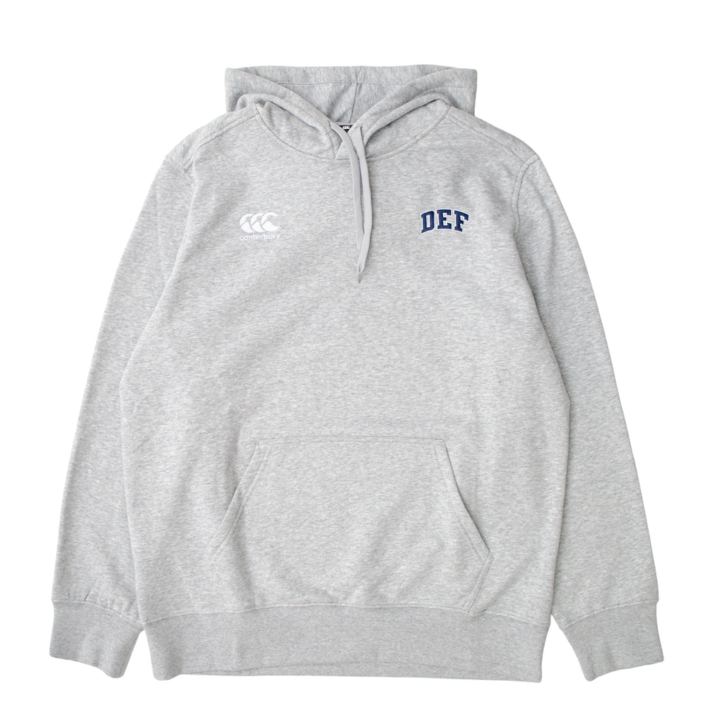 Def x Canterbury Super Hood - Heather Grey