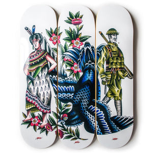 Def x Capilli 'Descendant Of' 3x Deck Set - All 8.0""