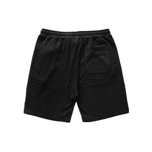 Load image into Gallery viewer, Def Crest Rubber Patch Terry Short - Black