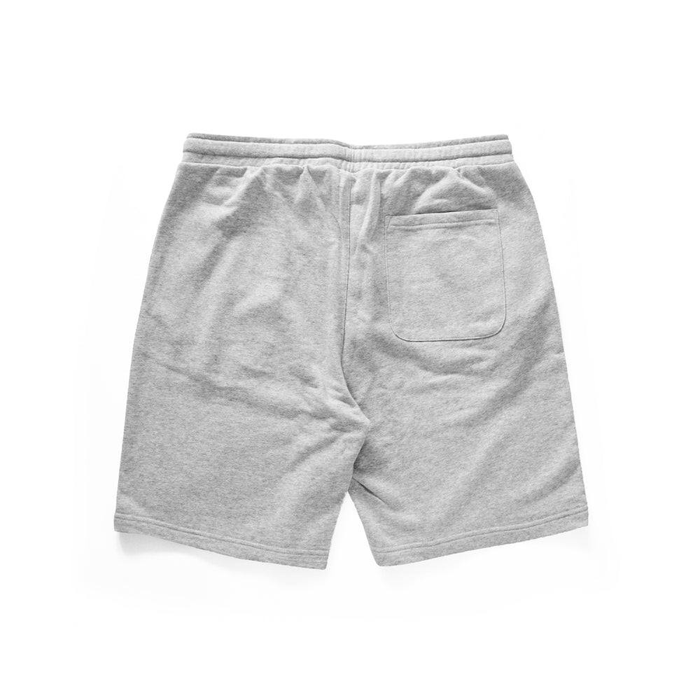 Load image into Gallery viewer, Def Crest Rubber Patch Terry Short - Heather Grey