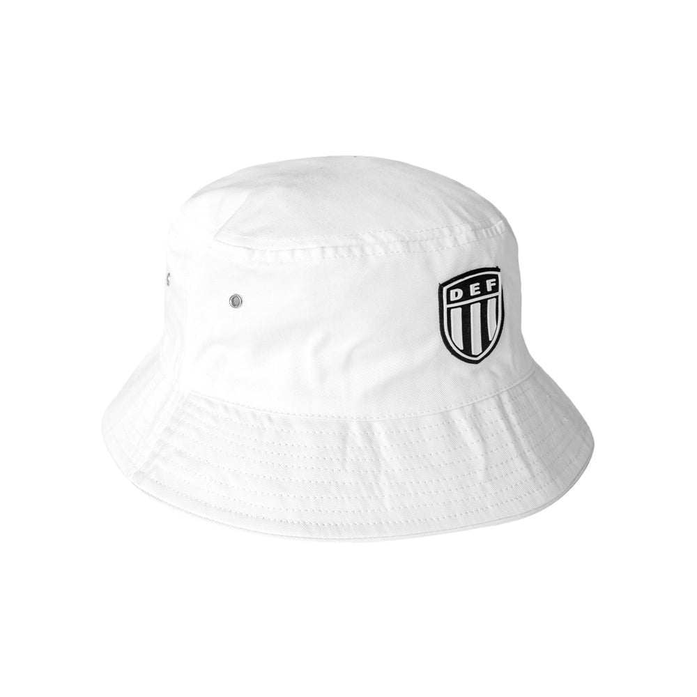 Def Crest Rubber Patch Bucket - White