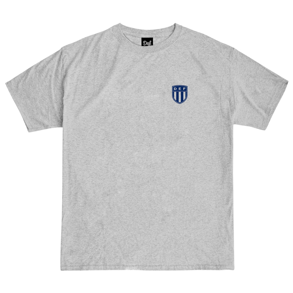 Load image into Gallery viewer, Def Crest Tee - Heather Grey