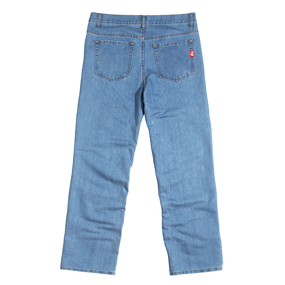 Def DEAF Denim Jeans - Relaxed Straight Fit (W2)