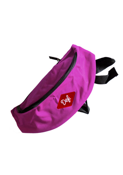 Def Diamond Patch Waist Bag - Purple