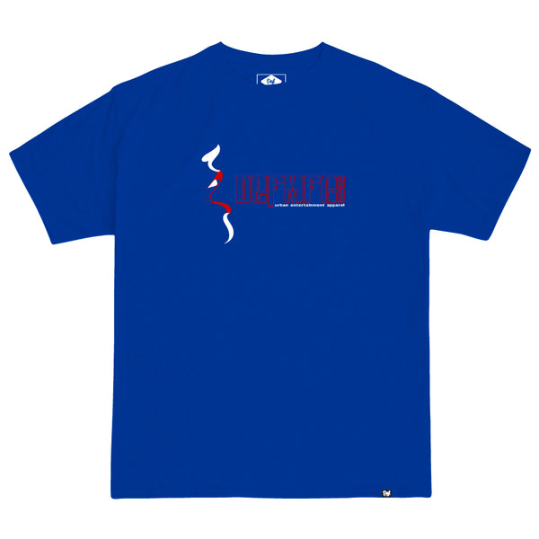 Def Entertainment Tee - Royal Blue
