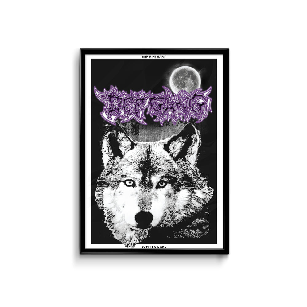 Def Full Moon Poster - A3