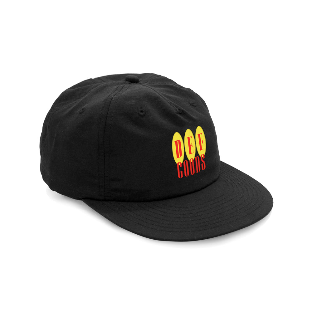 Def Goods Nylon Cap - Black