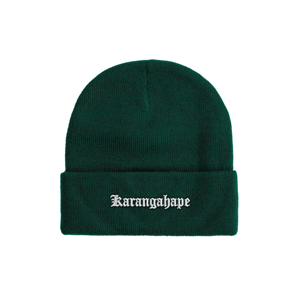 K'ROAD Heritage Beanie - Bottle Green