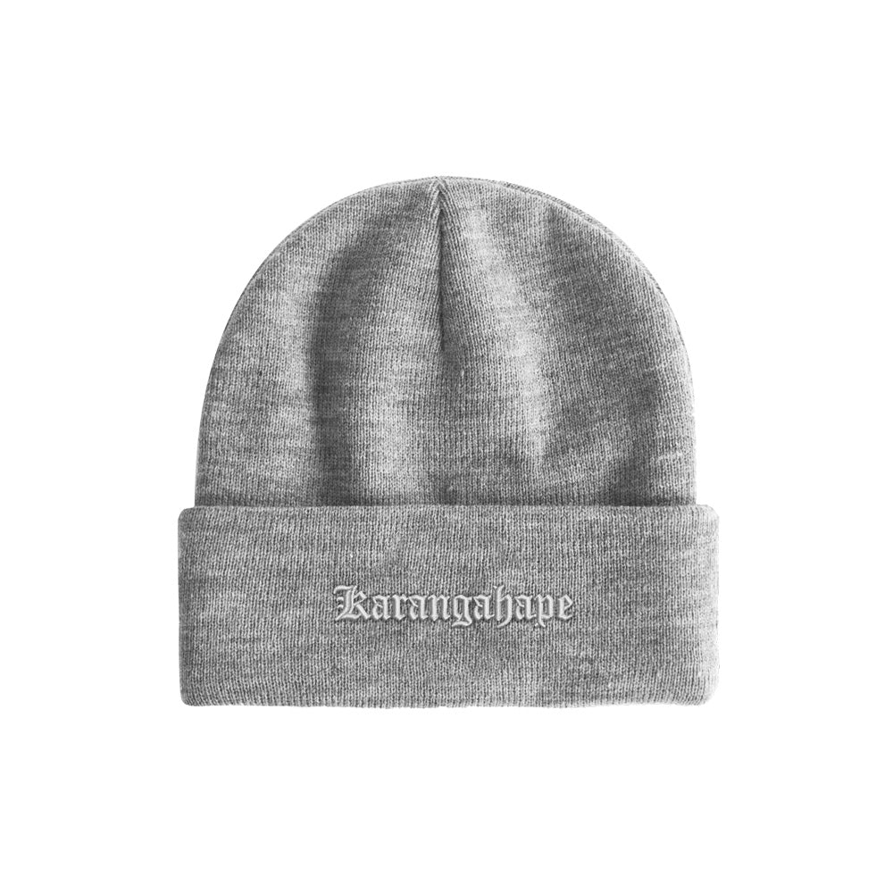 K'ROAD Heritage Beanie - Heather Grey