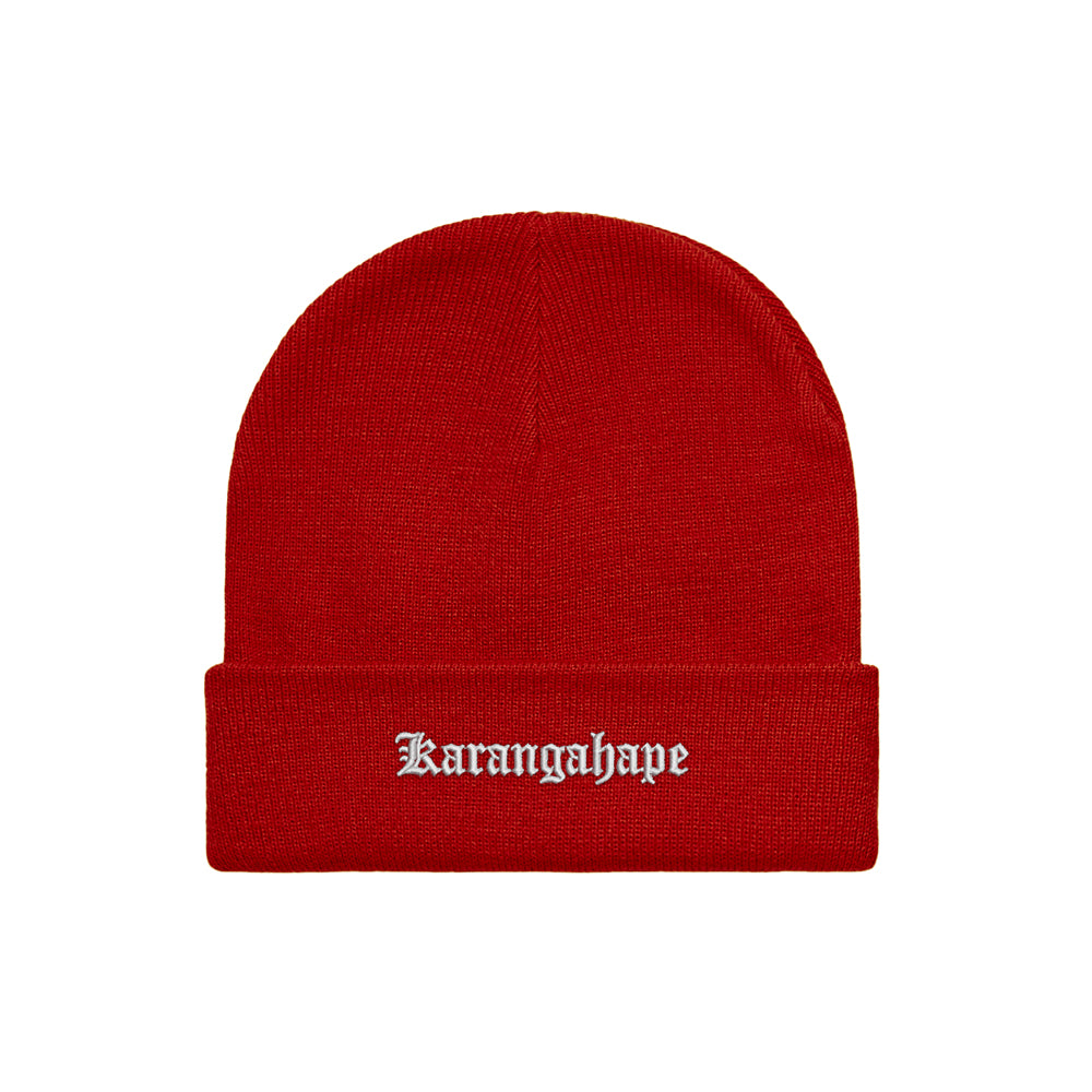K'ROAD Heritage Beanie - Red