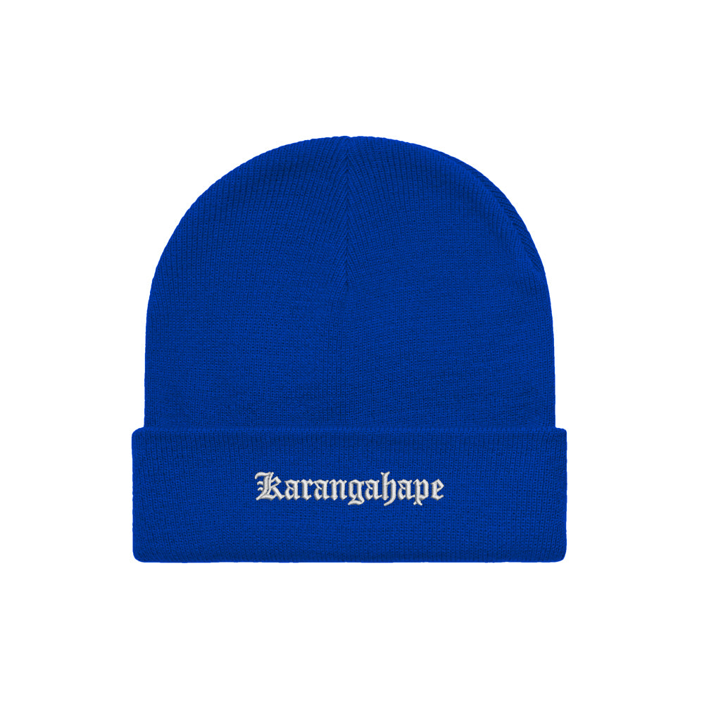 K'ROAD Heritage Beanie - Royal Blue